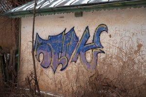 profesionální odstranění graffiti a čištění fasády