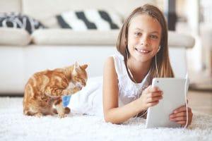 Škvrny na koberci - Ako vyčistiť