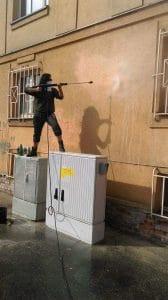 Graffiti – odstraňování, ochranné nátěry
