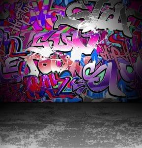 Odstranění graffiti z přírodního kamene
