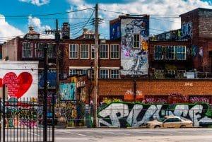 Čím se zbavit graffiti