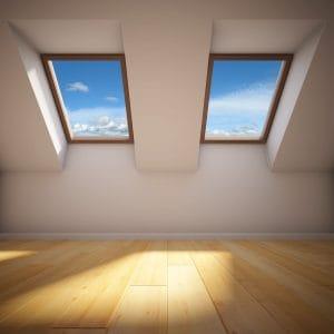 Jak umýt střešní okna