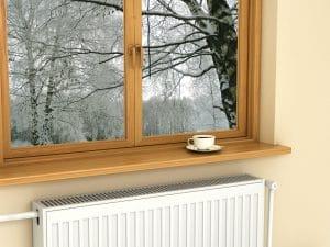 Čistá okna v domě