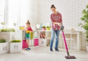 snadná údržba podlah