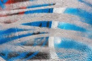 Abstraktní barevné graffiti