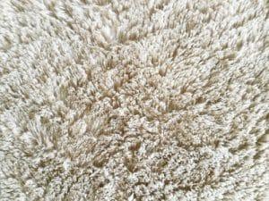 Bílé koberce se čistí 2x  ročně