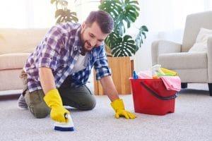 Domácí čištění koberců - ne