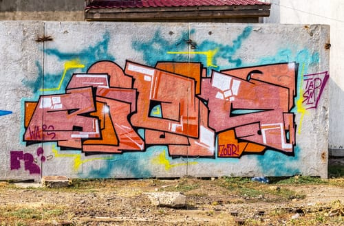 Graffiti, odstraňování Praha