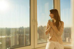 krásně čistá okna