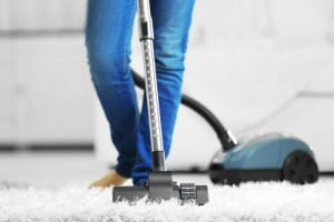 dôkladné vyčistenie koberec