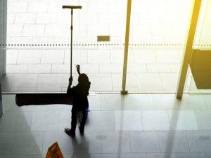 profesionálne leštenie a umývanie sklenených plôch