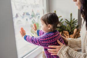 čisté okná v domácnosti