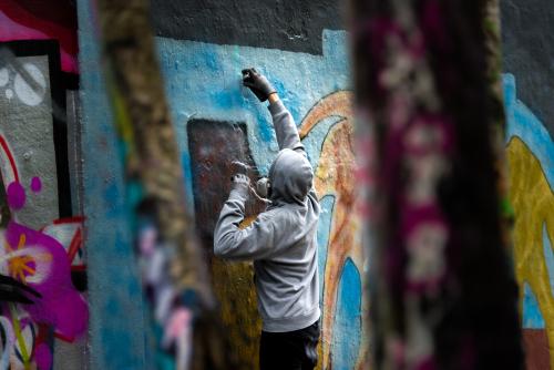 Čištění graffiti Plzeň