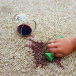ako vyčistiť koberec od škvrn