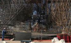 Katedrála Notre-Dame se proměnila v obří staveniště, ministr si pochvaluje postup prací