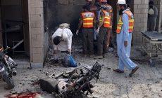 Atentátnice v burce se odpálila před pákistánskou nemocnicí