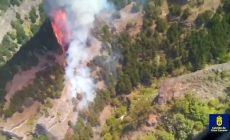 Rozsáhlý požár spaluje ostrov Gran Canaria