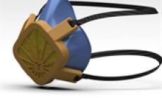 Na VUT navrhli ochrannou masku pro běžnou 3D tiskárnu. Podklady zveřejnili na webu, utěsní ji rukavice