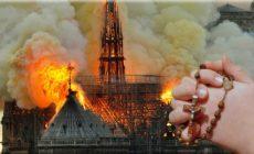 Hořící katedrála: Čemu věří ty udivené tváře? Nové božstvo Evropy. Lépe chrám zdevastovat než znesvětit. Není místa pro živé ani pro mrtvé. Notre Dame není zas taková škoda. Prorocká slova Marcela Prousta