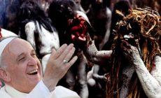 Kanibalismus a zabíjení vlastních dětí: Tajemná moudrost pro novou Církev? Konvertoval František k šamanismu? Nová synoda – nová pohroma. K čemu jsou dnes misie? Integrální ekologie namísto spásy