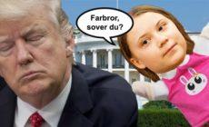 Greta doplula: 15 věrných fanoušků před Bílým domem. Splaskla bublina? Média křísí mrtvolu. Co mohou mladí udělat pro svoji budoucnost. Pije Trump ropu? Novinářů bylo více než aktivistů – jako již mnohokrát