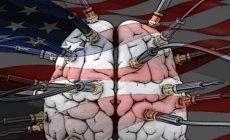 Nová paranoia v USA: Východ válcuje západní demokracii? Západ prý musí utáhnout šrouby. Ochrání Washington svůj primitivní lid? Jak vyhnat čínskou Hydru z trhu? Za vším hledej výrobce zbraní