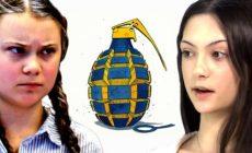 Anti-Greta: Ve Švédsku roste nová hvězda. Skutečná bojovnice na pozadí kultu plastové Grety. Mainstream ji ignoruje, majitelé sítí blokují její účty. Sympatie v Rusku a Itálii. Dozví se širší svět? Migranti z první ruky