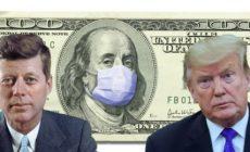 Ekonomický převrat: Vydává se Trump Kennedyho cestou? Plán zestátnění FEDu. Koronavirus rozehrál riskantní partie. Chce americký prezident skončit na márách? Hrozba rekordní ekonomické krize. Poučit se z chyb